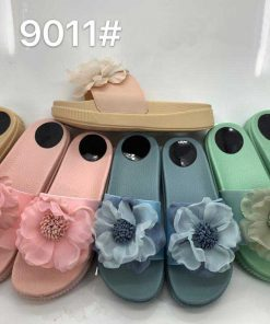 @ ₹500 Women's Flower Beach Thick Sole Sliders/ Slip ons Sandals Slippers